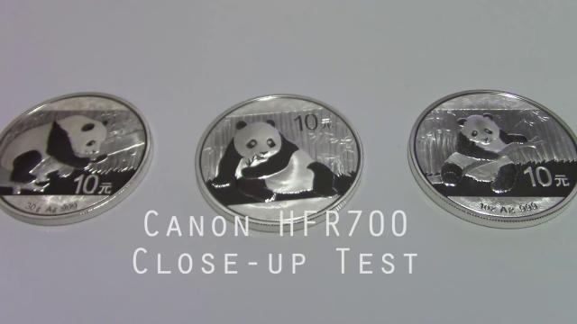 Canon HFR700 Vixia Close-up Test